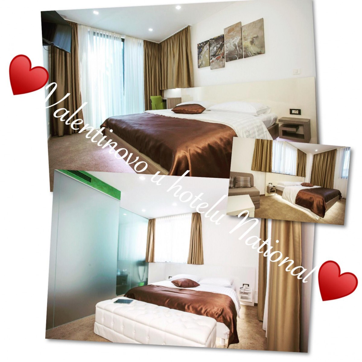 Valentines week in hotel National from 11.02.-17.02.